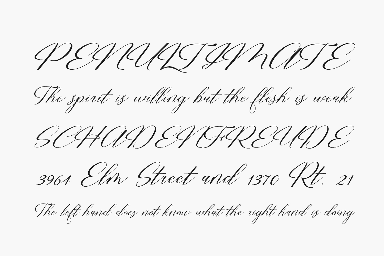 Restiany Script Free Font