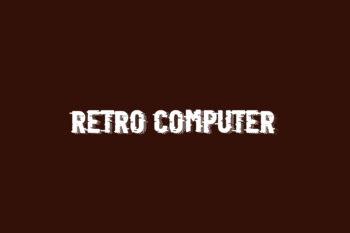 Retro Computer Free Font