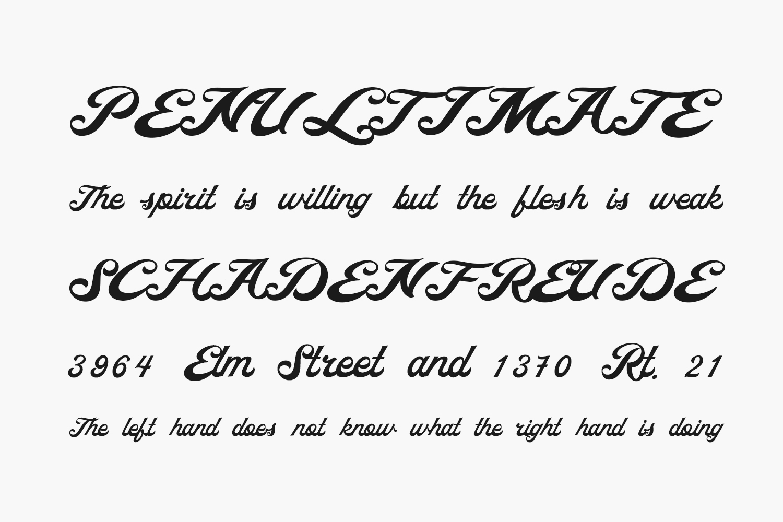 Ricota Free Font