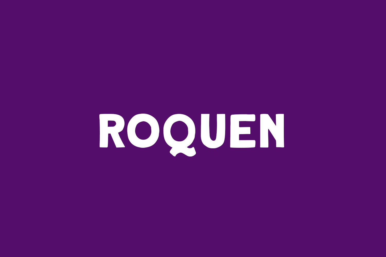 Roquen Free Font