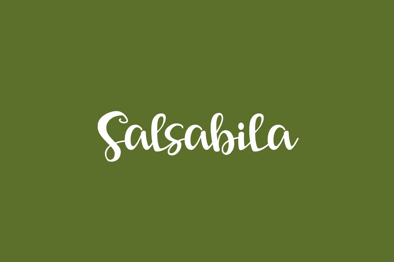 Salsabila Free Font