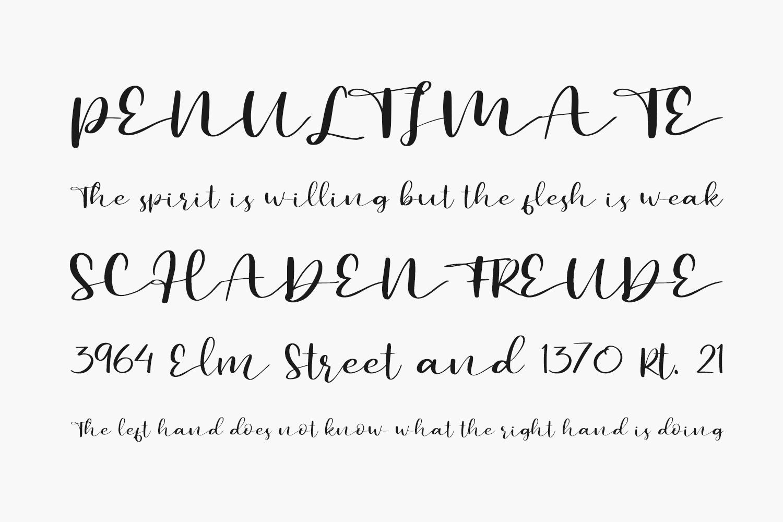 Secret Admire Free Font