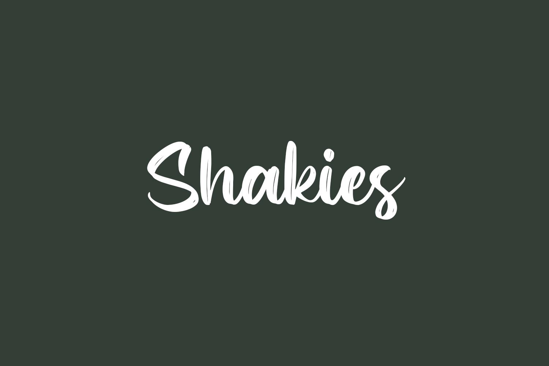 Shakies Free Font