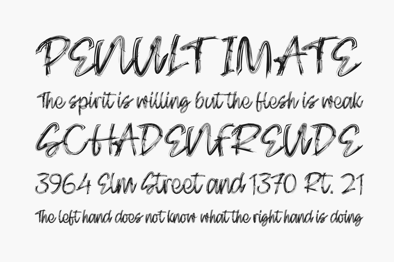 Skectcher Free Font