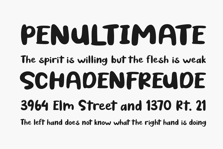 Spooky Cat Free Font