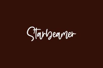 Starbeamer Free Font