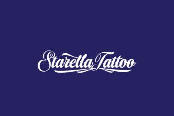 Starella Tattoo Free Font