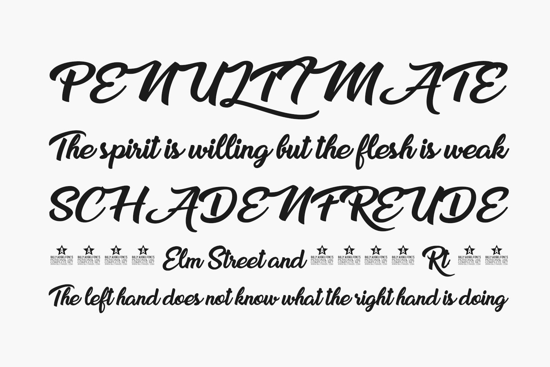 Sweet Sensations Free Font
