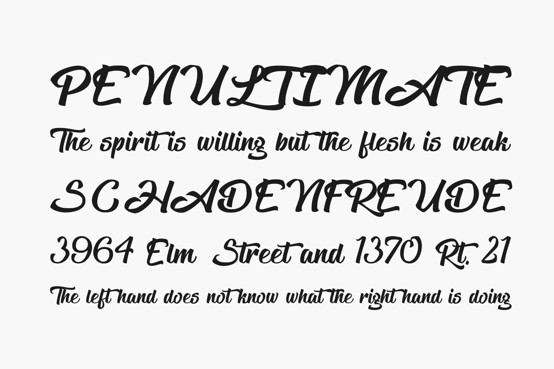 The Blacklist Free Font