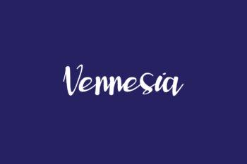 Vennesia Free Font