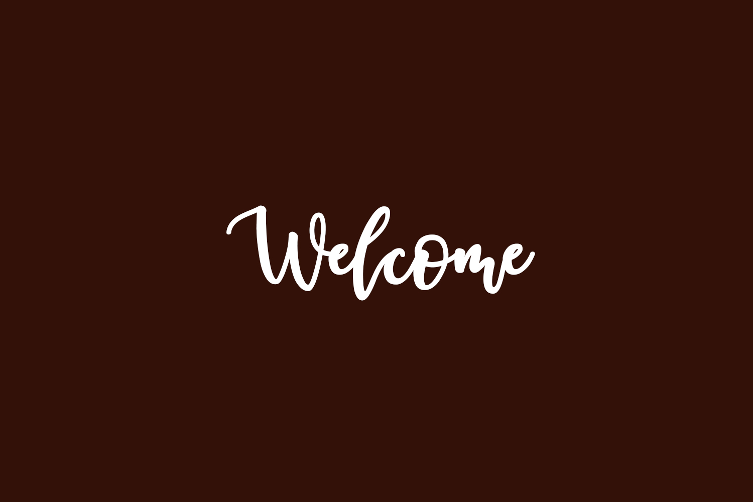 Welcome Free Font