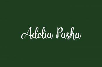 Adelia Pasha Free Font