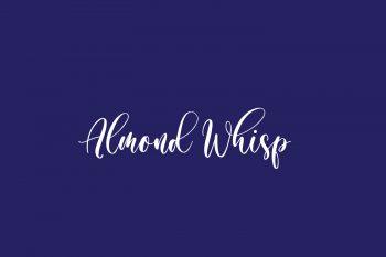 Almond Whisp Free Font