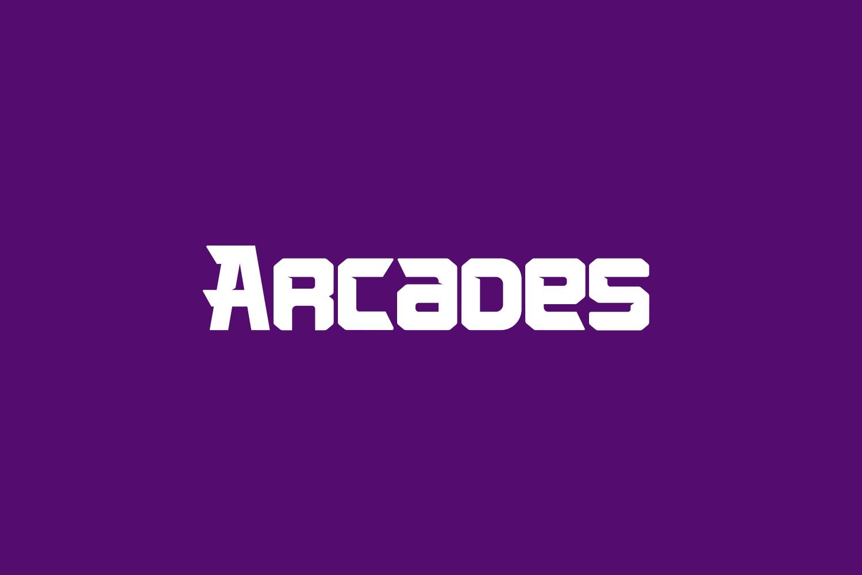 Arcades Free Font Family