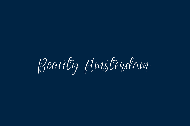 Beauty Amsterdam Free Font