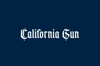 California Sun Free Font