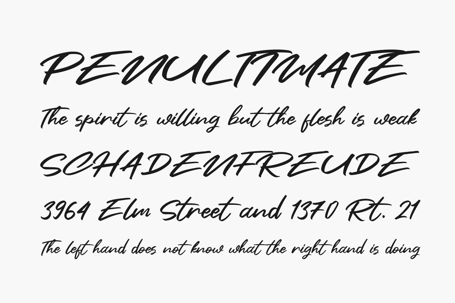 Clusive Free Font