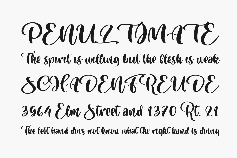 Cuteness Persimmon Free Font