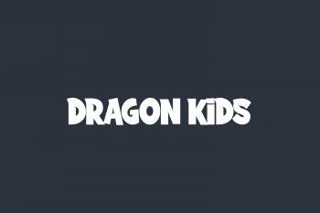 Dragon Kids Free Font