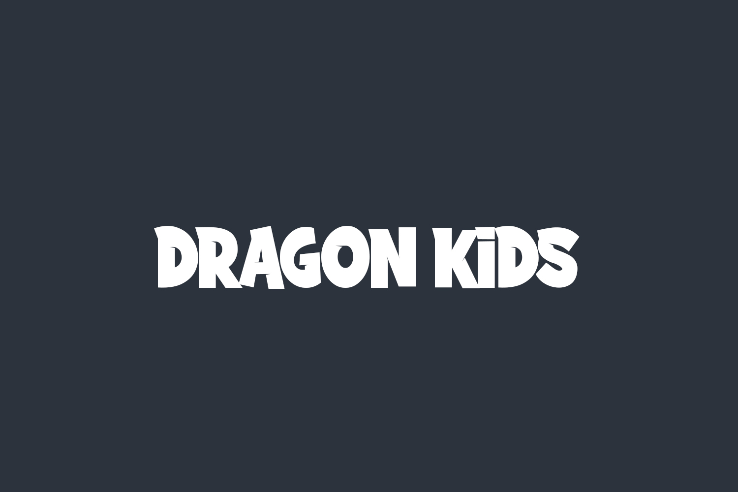 Dragon Kids Free Font
