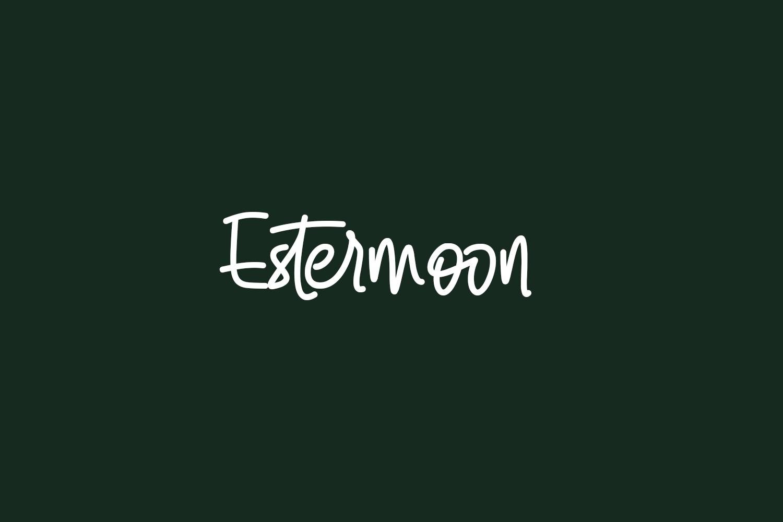 Estermoon Free Font