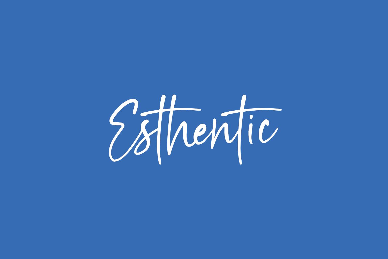 Esthentic Free Font