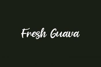 Fresh Guava Free Font