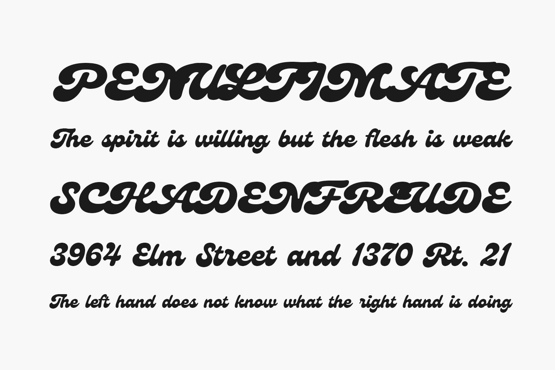 Genty Free Font