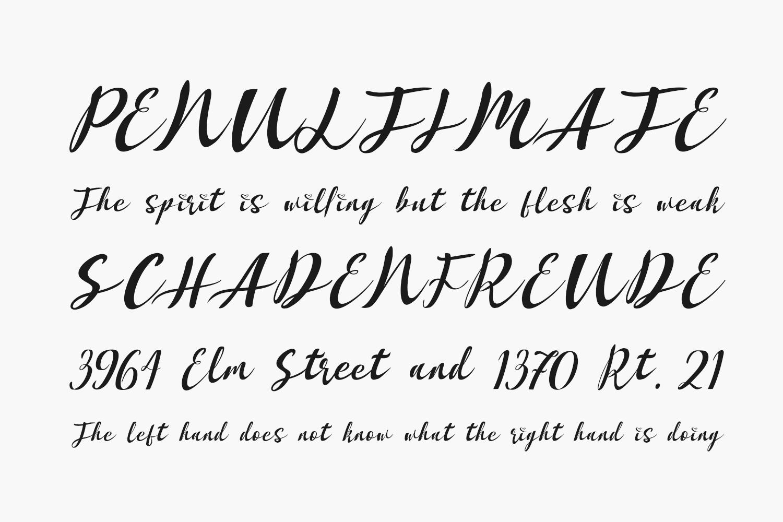 Hasnabilla Free Font