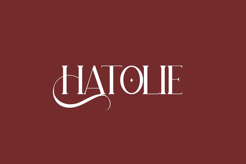 Hatolie Free Font