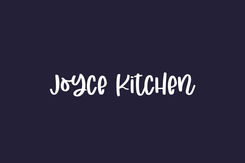 Joyce Kitchen Free Font