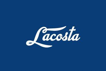 Lacosta Free Font