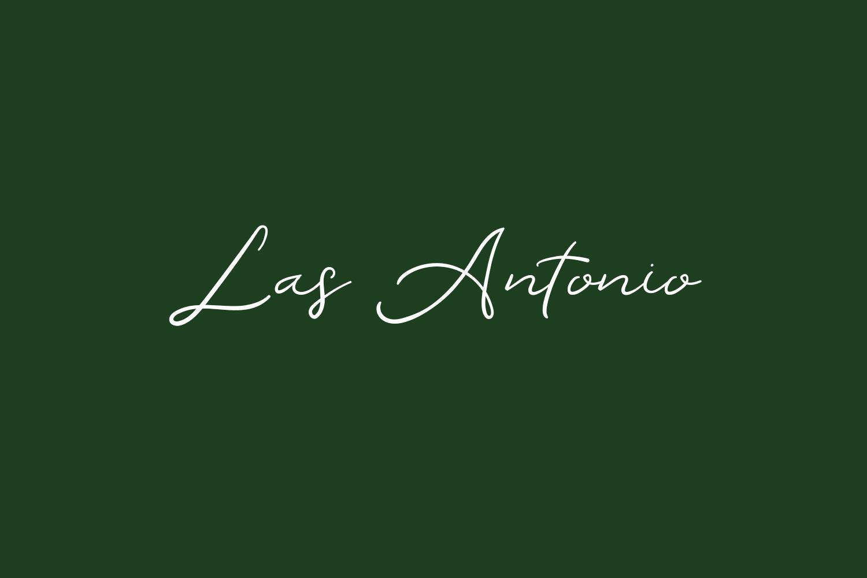 Las Antonio Free Font