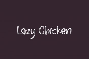 Lazy Chicken Free Font