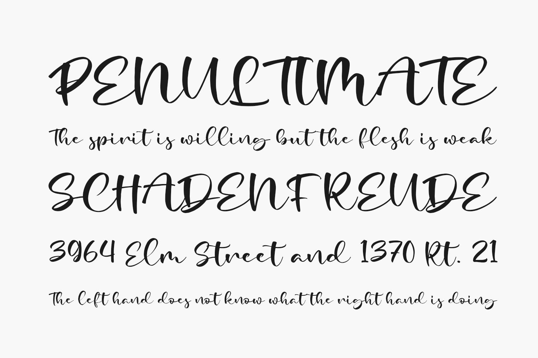 Madelia Free Font