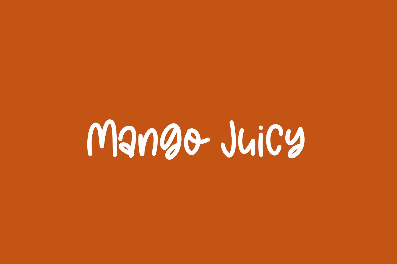 Mango Juicy Free Font