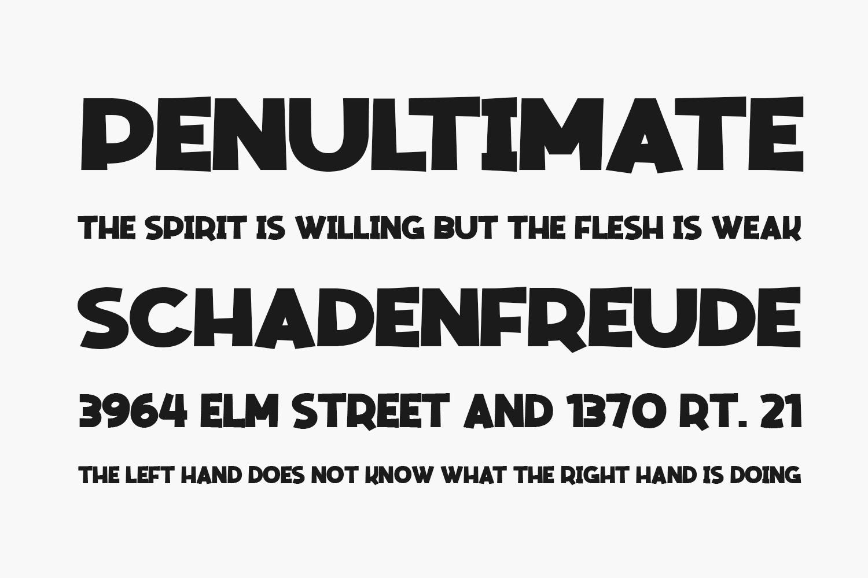 Mencrang Free Font