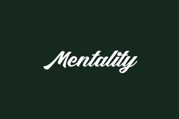 Mentality Free Font