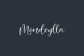 Mondeylla Free Font