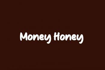 Money Honey Free Font