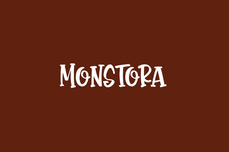 Monstora Free Font
