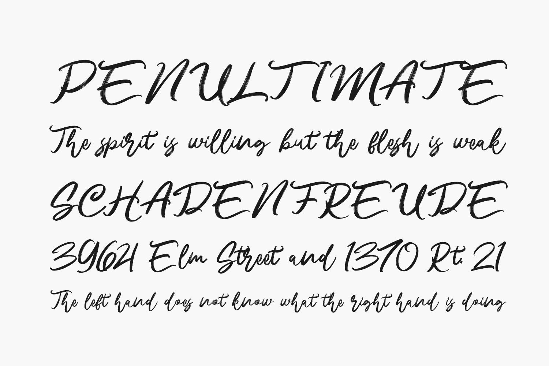 Namira Free Font