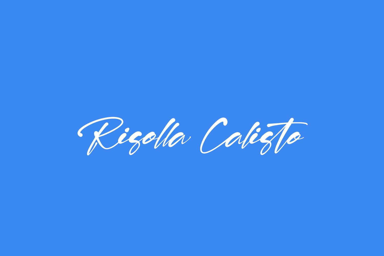 Risolla Calisto Free Font