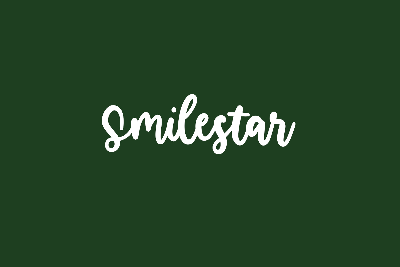 Smilestar Free Font