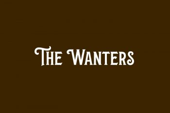 The Wanters Free Font