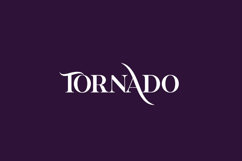 Tornado Free Font