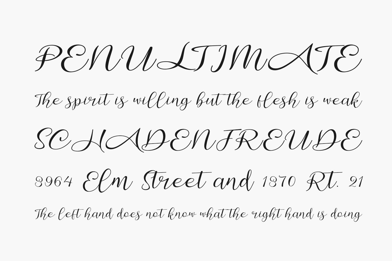 Amalia Free Font