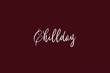 Chillday Free Font