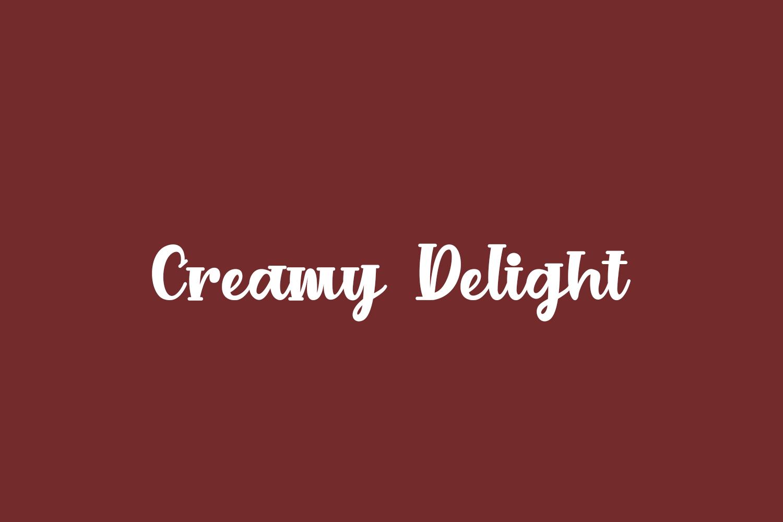 Creamy Delight