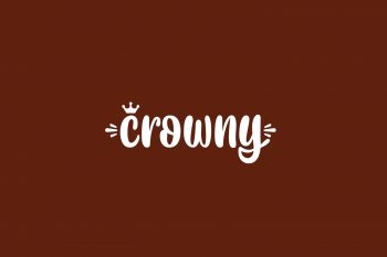 Crowny Free Font